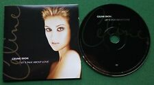 Celine Dion Let's Talk About Love inc My Heart Will Go On + CD