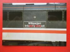 PHOTO  CLASS 87 ELECTRIC NAMEPLATE - 87 016 WILLESDEN INRTERCITY DEPOT