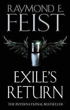 Exile's Return by Raymond E. Feist (Hardback, 2004)