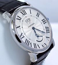 Cartier Rotonde W1556369 40mm Silver Dial Automatic Watch BOX/PAPERS *BRAND NEW*