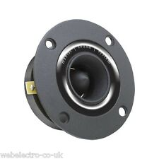 33511 Professional Heavy Duty Bullet Tweeter Speaker 200 W 8 Ohm Black