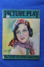 Picture Play Movie Magazine Cover Joan Crawford September 1927