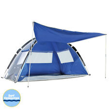 LAND & SEA Pop Up Family Beach Tent Sun Shelter UPF 50+ Beach Shelter