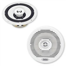 Clarion marine audio cm1625 altavoces 16,5 cm boxeo speaker Weiss Boot Yacht