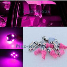 12Pcs Pink LED SMD Lights Interior Package Kit for 2009-2015 Dodge RAM 1500 MP