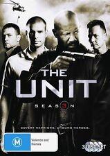 The Unit : Season 3 (DVD, 2009, 3-Disc Set)