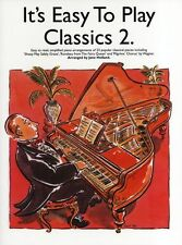 Its Easy To Play Classics Learn to Play CLASSICAL Piano Guitar Music Book 2