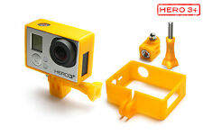 Frame Mount Tripod Mount f. GoPro HD HERO 3+ Black Zubehör Stativ Adapter Orange