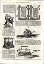 1862 Cranston's Woods Grass Mowing Machine Coalbrookdale's Chair