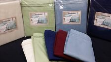 NAVY King Waterbed Sheet set FREE Stay Tuck Poles. Premium Quality !!