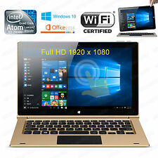"Onda 11.6"" FHD 2-in-1 Laptop Tablet Netbook Intel Quad Core Windows 10 4GB/32GB"