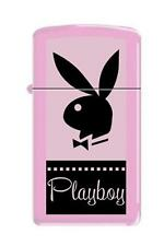 Zippo 7824 playboy bunny logo slim RARE & DISCONTINUED Lighter