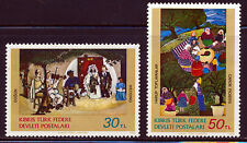 TURKEY NORTHERN CYPRUS 1982 ART SET SCOTT 120-21