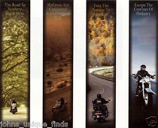 "Harley-Davidson NOS Double-Sided Seasonal Banner Kit 11""W x 48""H"