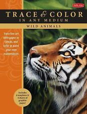 Wild Animals: Trace line art onto paper or canvas, and color or paint your own m
