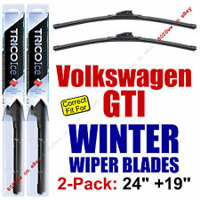 WINTER Wipers 2-Pack Premium - fit 2006-2014 VW Volkswagen GTI - 35240/35190