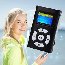 MP3 Music Player With Digital LCD Screen Mini Clip Support 32GB Micro SD TF OK