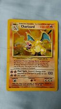 Base Set 4/102 Charizard rare holo played condition