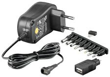 Ecofriendly universal-conmutador 1000ma conmutable 3v - 12v USB adaptador