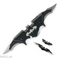 Batarang Batman mini replica navaja doble hoja cuchillo