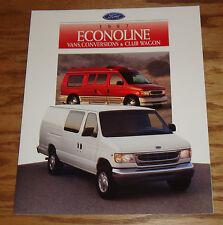 Original 1997 Ford Econoline Van Conversion Club Wagon Sales Brochure 97