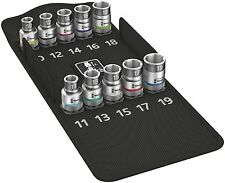 Wera 004203 8790 HMC HF1 1/2″ Drive Zyklop Socket Set With Holding Funtion 10-19