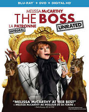 The Boss (Blu-ray Disc, 2016, 2-Disc Set, Canadian)