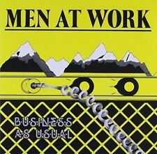 MEN AT WORK BUSINESS AS USUAL REMASTERED Gold Disc Series CD NEW