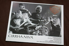 CIRRHA NIVA OFFICIAL 1997 PROMO PICTURE 5X6 INCHES MINT VERY RARE HTF OOP