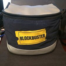 *Rare* Blockbuster Video Original Koozie Insulated Strap Lunch box Cooler 10 x 7