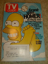 TV Guide - Homer Simpson cover, 300th episode of The Simpsons, Feb. 15-21, 2003