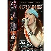 Guns N' Roses - Broadcast Archives (DVD, 2008) Brand new and sealed