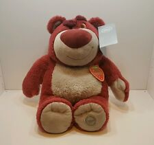 Disney Store Toy Story LOTSO Bear Plush & Strawberry Scented Toy