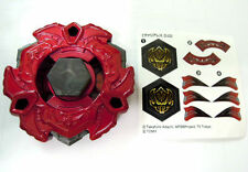 TAKARA TOMY BEYBLADE WBBA LIMITED BB114 RED Vari Ares D:D VARIARES METAL FUSION