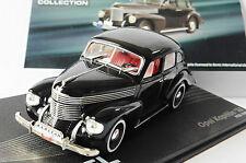 OPEL KAPITAN 38 1938 1940 BLACK IXO ALTAYA 1/43 LEFT HAND DRIVE SCHWARZ NOIRE