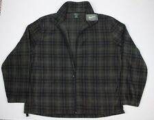 NWT Men's Woolrich Andes Printed Fleece Plaid Jacket Size XXL