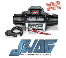 WARN ZEON 10 SERIES - 10,000LB RECOVERY WINCH - JEEP TRUCK SUV - 80 FT ROPE