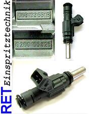Einspritzdüse BOSCH 0280155825 Audi A 4 1,8 T 06B133551B gereinigt & geprüft