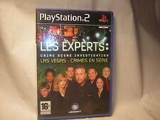 Playstation 2 Les Experts Las Vegas Crimes en Serie PS2
