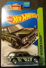 Hot Wheels CUSTOM '71 Datsun Bluebird Wagon with NEW JDM Real Riders Kmart