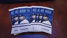2014 NEW YORK YANKEE TICKET STUBS MARIANO RIVERA'S PICTURE