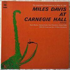 MILES DAVIS AT CARNEGIE HALL JAPAN CD PAPERSLEEVE MINI LP