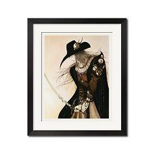 Vampire Hunter D x Yoshitaka Amano D To Dream Poster Print