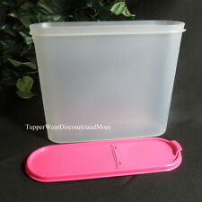 Tupperware NEW MODULAR Mate MATES SUPER OVAL # 4 Container Pour All PINK Seal