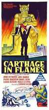 Carthage In Flames Poster 03 A3 Box Canvas Print
