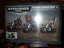 Warhammer 40K dark angels ravenwing command squad chevaliers noirs-new & sealed