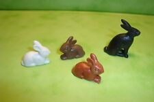 Playmobil: Lot de 4 lapins playmobil / rabbit