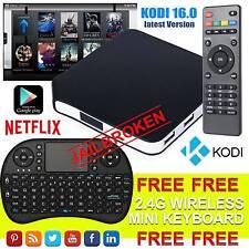 Nuevo Android 4.4 TV Box Completamente Cargada Quad Core Xbmc Libre Películas En Vivo Reino Unido Kodi