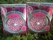 2 PHYSICIANS FORMULA MINERAL GLOW PEARLS POWDER PALETTE BLUSH, #7332 ROSE PEARL