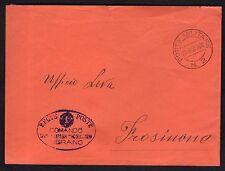 POSTA MILITARE 1940 Lettera da PM 2 a Frosinone (FMH)